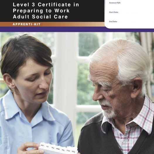 Level 3 Certificate in Preparing to work in Adult Social Care