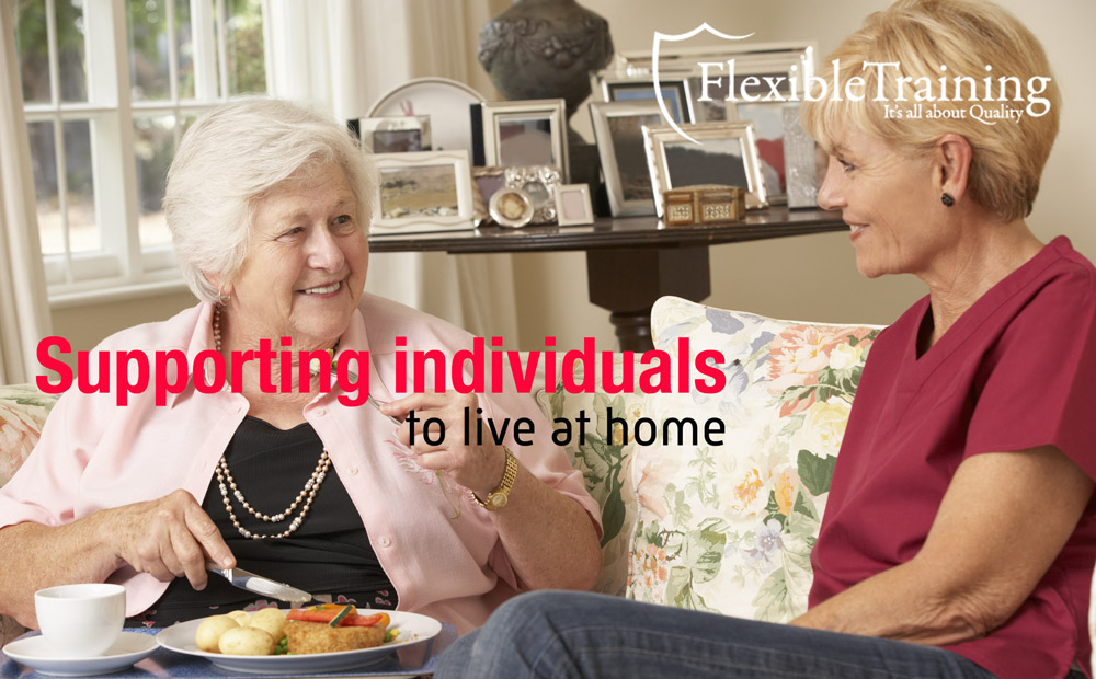Supporting individuals to live at home