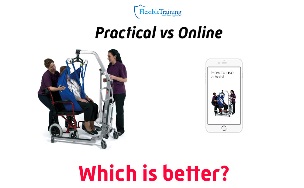 Online or Practical training – which is best?